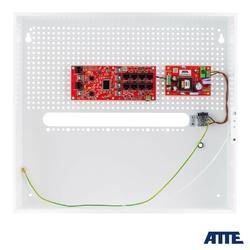 Zestaw do 8 kamer ip switch poe 8p+2g atte ip-8-20-h - szybka dostawa lub możliwość odbioru w 39 miastach