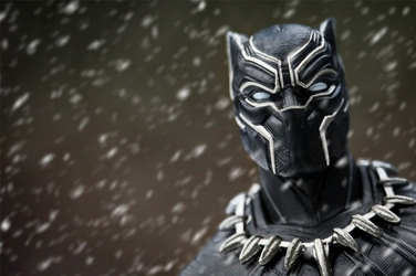Black panther t-challa - plakat wymiar do wyboru: 30x20 cm