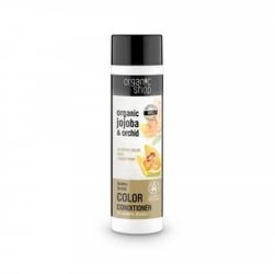Odżywka z efektem rozświetlania włosów złota orchidea 280 ml organic shop