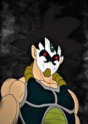 Dragon Ball - Bardock - plakat Wymiar do wyboru: 60x80 cm