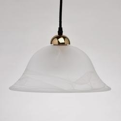 Podwójna, regulowana lampa wisząca z alabastrowego szkła mw-light classic 327010702