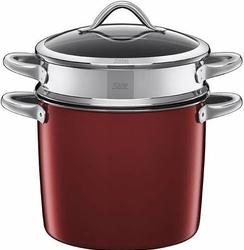 Garnek do gotowania makaronu Vitaliano Rosso