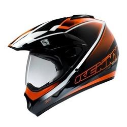 Kenny kask off-road extreme orange