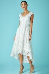 Biała sukienka na ślub cywilny |  goddiva 1471