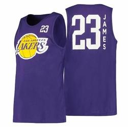 Koszulka NBA Los Angeles Lakers All Net Basic Tank - Lebron James - EB7K2M1BBTJ - Los Angeles Lakers Lebron James