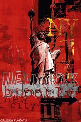 Nowy Jork II rot - plakat