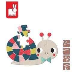 Ślimak mini puzzle baby forest 12 el.