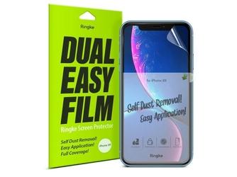 2x folia ochronna ringke dual easy film apple iphone xr11