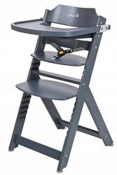 Safety 1st timba warm grey drewniane krzesełko do karmienia + puzzle