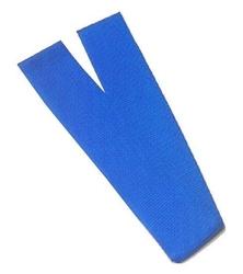 Szarfa gimnastyczna niebieski as07019