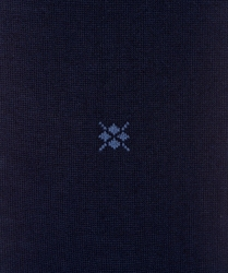 Eleganckie bawełniane gładkie skarpety burlington w kolorze granatowym rozmiar 40-46