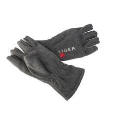 Rękawiczki polarowe bez palców eiger szare xl