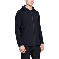 Kurtka męska under armour vanish woven jacket - czarny