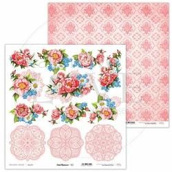 Papier do scrapbookingu Coral Romance 30,5x30,5 cm - 02 - 02