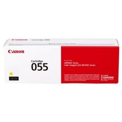 Toner Oryginalny Canon CRG-055Y 3013C002 Żółty - DARMOWA DOSTAWA w 24h