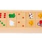 Domino drewniane w gospodarstwie janod