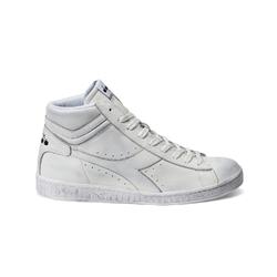 Sneakersy diadora game l high waxed - biały