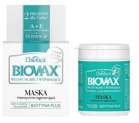 Biovax maseczka do włosów słabych ze skłonnością do wypadania 250ml