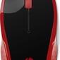 Mysz bezprzewodowa optyczna  hp 200 empress red