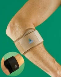 1086 stabilizator łokcia tenisisty z silikonową wkładką