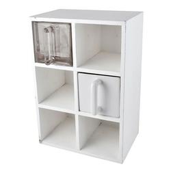 Półka biała na sześć szufladek ib laursen