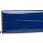 Duży damski portfel valentini like a diamond - niebieski