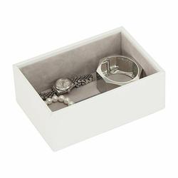 Pudełko na biżuterię open Mini Stackers białe