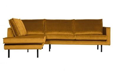 Be pure lewa sofa narożna rodeo ochry 800972-132