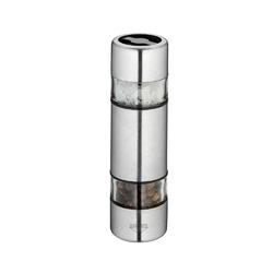 Kuchenprofi - sydney - podwójny młynek do soli i pieprzu, stalowy - stalowy