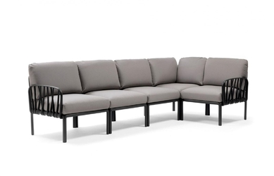 Sofa komodo5 antracyt szara - szary