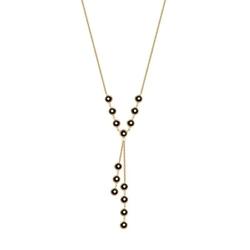 Naszyjnik srebrny złocony inac002 firmy verona