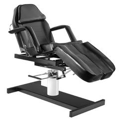 Fotel kosmetyczny hyd. a 210c pedi czarny