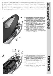 Stelaż shad kshs0gl69st suzuki gladius 650 - 0916