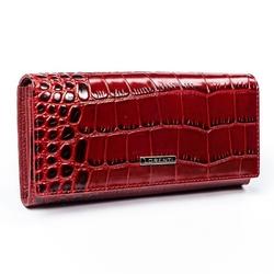 Portfel damski skórzany rfid lorenti 72401-stw czerwony
