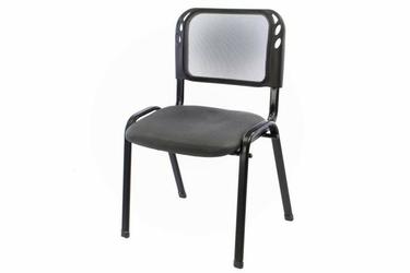 Krzesło biurowe szare, konferencyjne