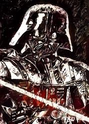 Legends of bedlam - darth vader, gwiezdne wojny star wars - plakat wymiar do wyboru: 29,7x42 cm