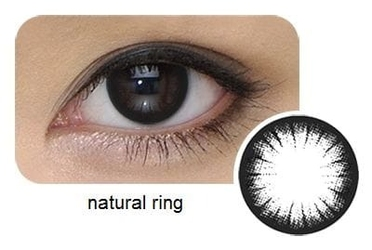 Cool look 1-tone natural ring