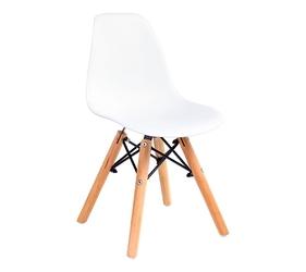 Krzesło na drewnianych nogach junior dsw