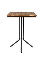 Orange line stolik barowy maze kwadratowy naturalny 2500009