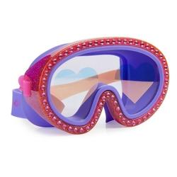 Maska do pływania bling2o - malinowe serca
