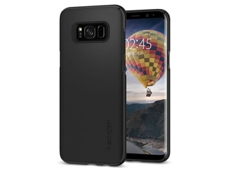 Etui spigen sgp thin fit samsung galaxy s8+ plus - black - czarny
