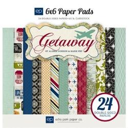 Zestaw papierów 15x15 Getaway 24 szt. - GETA