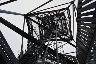 Fototapeta wieża z dołu fp 95