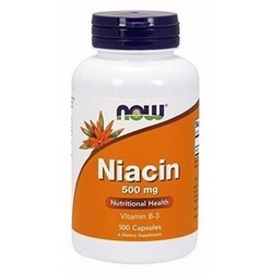 Now niacin 500mg - 100caps