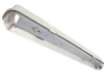 Oprawa hermetyczna ip65 2x18w slim - przystosowana do świetlówek led