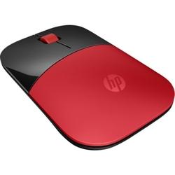 Mysz bezprzewodowa hp z3700, czerwona