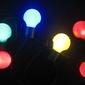 Lampki ogrodowe 20 led, kolorowe żarówki