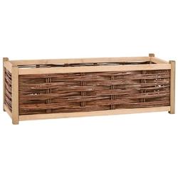 Vidaxl podwyższona donica ogrodowa, 120x40x40 cm, drewno sosnowe
