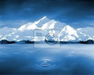 Fototapeta pureté de la montagne