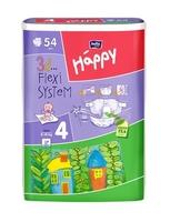 Bella happy maxi,  pieluchy dla dzieci  8-18kg, 54 sztuki